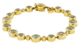 Temple St. Clair 18K Quartz & Diamond Station Bracelet