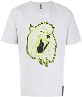 Versus front printed T-shirt