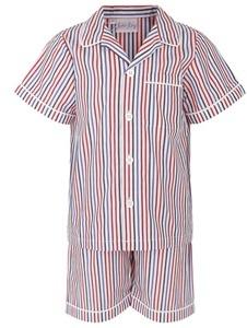 Rachel Riley Stripe Short Pyjamas