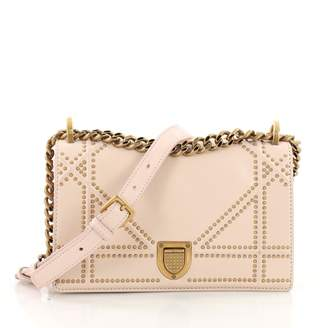 Christian Dior Diorama Pink Leather Handbag