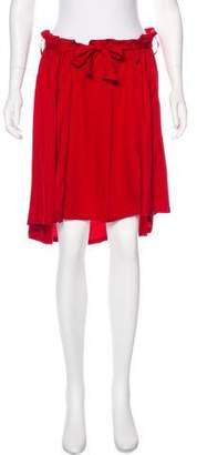 Ann Demeulemeester A-Line Mini Skirt