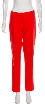Issa Mid-Rise Straight-Leg Pants