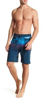 Burnside Stretch Palms Board Shorts