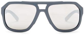Dolce & Gabbana Men's Aviator Plastic Frame Sunglasses $255 thestylecure.com