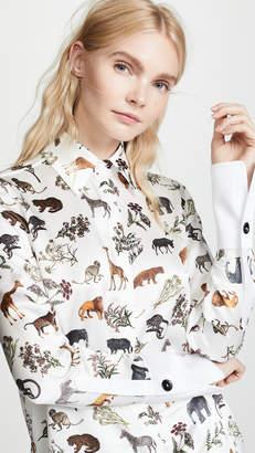 Victoria Beckham Victoria Grandad Shirt