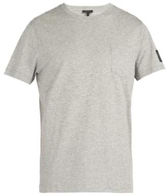 Belstaff New Thom Pocket Crew Neck Cotton T Shirt - Mens - Grey