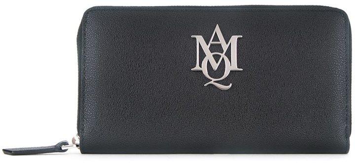 Alexander McQueenAlexander McQueen 'Insignia' continent wallet