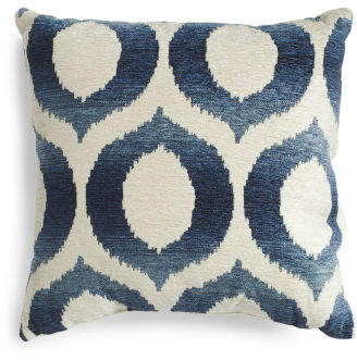 18x18 Faux Suede Olson Diamond Pillow