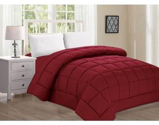 Celine Linen Down Alternative Double-Filled Comforter Full/Queen , Lilac