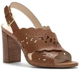 Cole Haan Indra Floral Leather Sandals