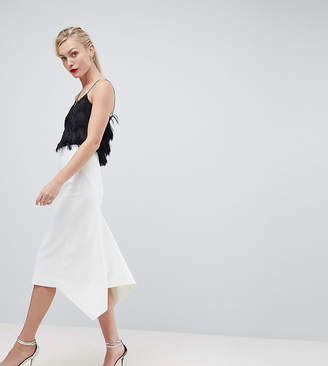 Asos DESIGN Tall tailored occasion fishtail midi skirt