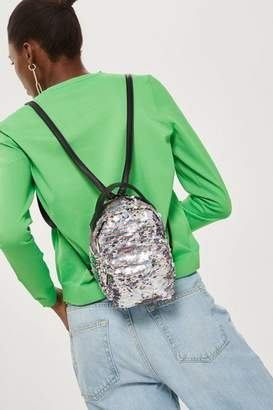 Topshop Funky Sequin Mini Backpack