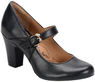 Sofft Leather Mary Jane Pumps - Miranda