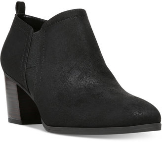 Franco Sarto Barrett Ankle Booties $99 thestylecure.com