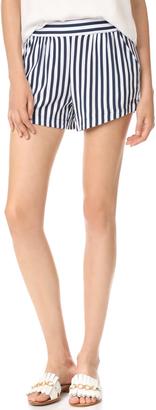 Splendid Boardwalk Stripe Shorts $98 thestylecure.com