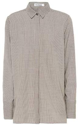 Jil Sander Checked virgin wool shirt