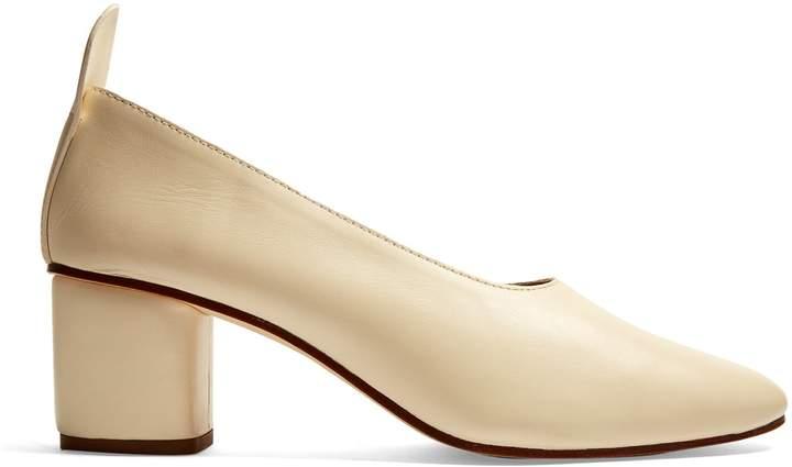JOSEPHJOSEPH Block-heel leather pumps