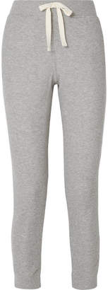 Skin Edie Ribbed Cotton-blend Jersey Track Pants