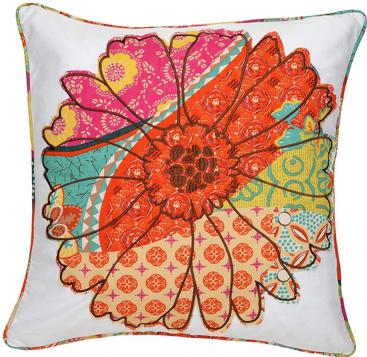 Flower Madagascar Throw Pillow