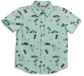 Sovereign Code Boys' Beach Print Shirt - Little Kid, Big Kid