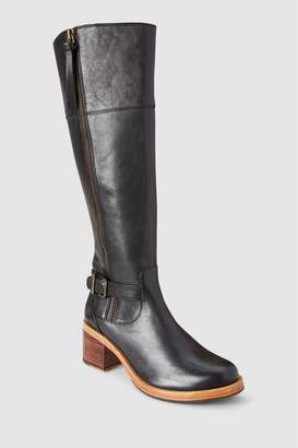 Next Womens Clarks Clarkdale Sona Buckle Zip Long Boot
