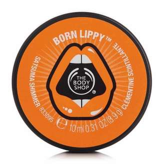 The Body Shop Born Lippy Shimmer Lip Balm - Satsuma