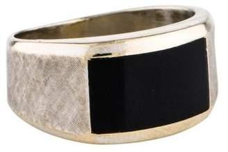 Ring 14K Onyx Band