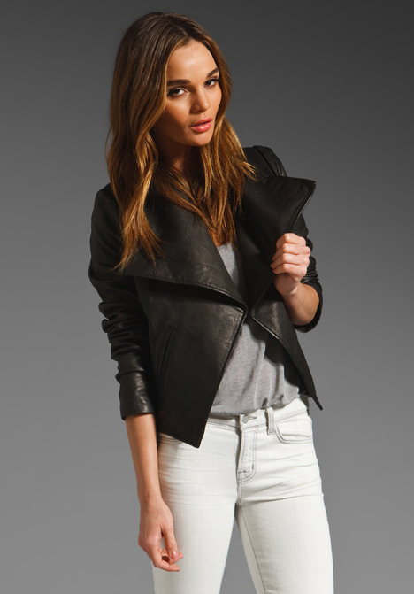 Joie Kinder Paper Leather Jacket