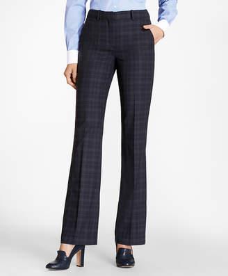 Brooks Brothers Plaid BrooksCool Merino Wool Pants
