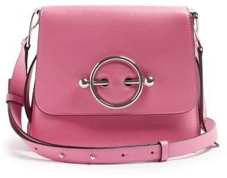 J.W.Anderson Disc Leather Cross Body Bag - Womens - Pink