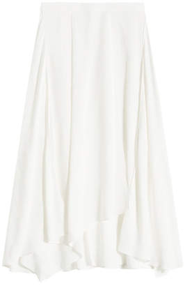Jil Sander Navy Midi Skirt
