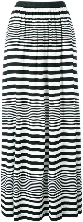 I'M Isola Marras striped maxi skirt