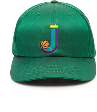 JUST DON Islanders Embroidered Satin Baseball Hat