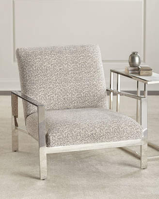 Massoud Ambri Chrome-Frame Chair