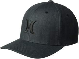 5c5f49ad101 at Amazon Canada · Hurley Men s Black Textures Baseball Cap