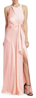 Clemence Neck Detail Gown