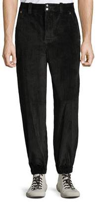 Alexander Wang Men's Wide-Wale Corduroy Trousers