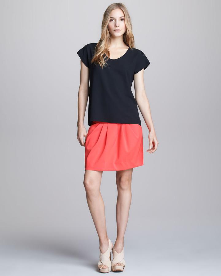 Diane von Furstenberg Jan Jersey Sportswear Skirt