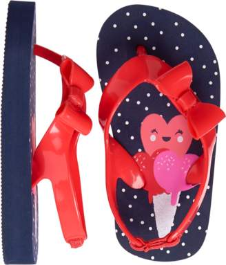 Gymboree Ice Cream Flip Flops