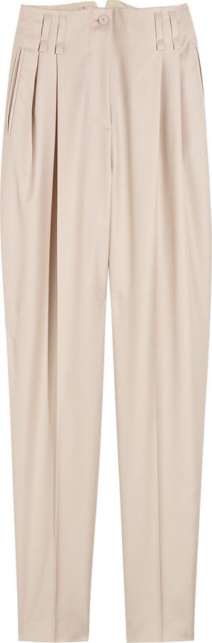 Stella McCartney Cropped wool pants