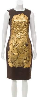 Jason Wu Painted Sleeveless Dress