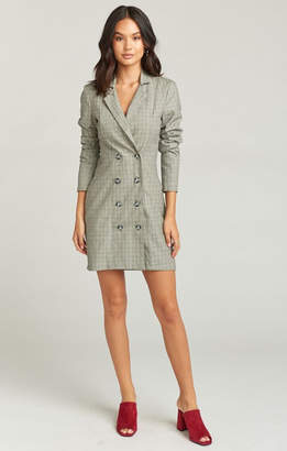 Show Me Your Mumu Meryl Blazer Dress ~ London Calling Plaid