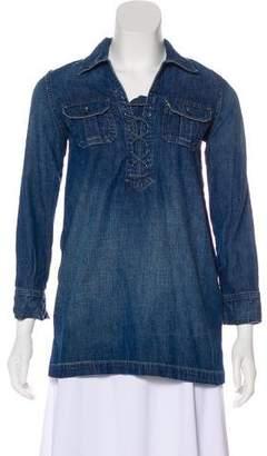 Polo Ralph Lauren Denim Long Sleeve Top
