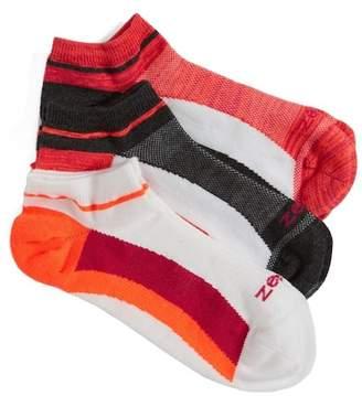 Zella Fitness Liner Socks (3-Pack) (2 for $35)