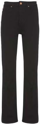Mint Velvet Idaho Black Bootleg Jeans