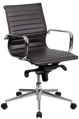 Wade Logan Annabell Ergonomic Office Chair Color : Brown