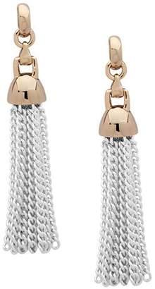 Ralph Lauren Chain Tassel Drop Earrings