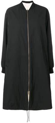 Yves Salomon Army oversized bomber jacket