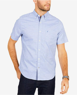 Nautica Men's Horizontal Striped Shirt