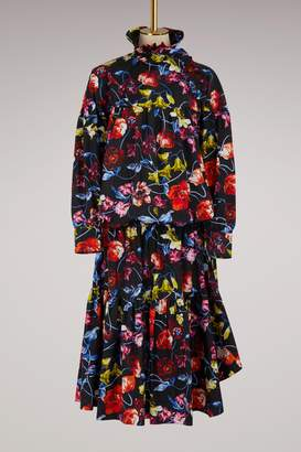Kenzo Long dress with flowers